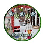 ornament - christmas - Ornament (Round)