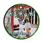 ornament - christmas - Ornament (Round)