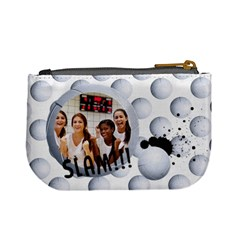 Volleyball Mini Coin Purse By Mikki   Mini Coin Purse   V2t1hu565q0x   Www Artscow Com Back