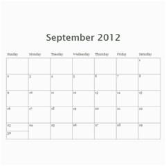 Mom 2012 Calandar By Francine Boyle   Wall Calendar 11  X 8 5  (12 Months)   Hpu81md8q067   Www Artscow Com Sep 2012