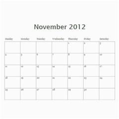 Mom 2012 Calandar By Francine Boyle   Wall Calendar 11  X 8 5  (12 Months)   Hpu81md8q067   Www Artscow Com Nov 2012