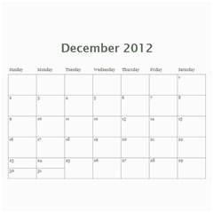 Mom 2012 Calandar By Francine Boyle   Wall Calendar 11  X 8 5  (12 Months)   Hpu81md8q067   Www Artscow Com Dec 2012