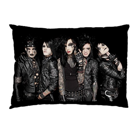 Bvb Pillow 1 By Victor Hajjar   Pillow Case   0rqcwajbjdeu   Www Artscow Com 26.62 x18.9 Pillow Case