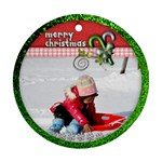 ornament - christmas 5 - Ornament (Round)