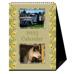 A Little Country Desktop Calendar By Deborah   Desktop Calendar 6  X 8 5    3y74410bjlyv   Www Artscow Com Cover