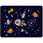 Rocket Man Extra Large Fleece Blanket - Fleece Blanket (Extra Large)