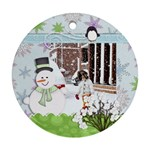 ornament - winter - Ornament (Round)
