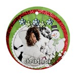 ornament - winter 2 - Ornament (Round)