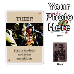 Indiana Jones Fireball Base Set By German R  Gomez   Playing Cards 54 Designs   Ecd3sjvbrtny   Www Artscow Com Front - Spade2