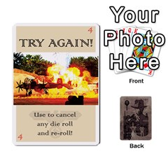 King Indiana Jones Fireball Base Set By German R  Gomez   Playing Cards 54 Designs   Ecd3sjvbrtny   Www Artscow Com Front - SpadeK