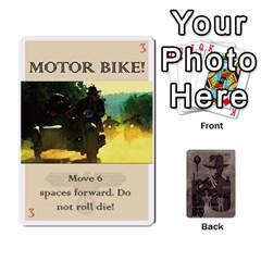 Indiana Jones Fireball Base Set By German R  Gomez   Playing Cards 54 Designs   Ecd3sjvbrtny   Www Artscow Com Front - Heart3