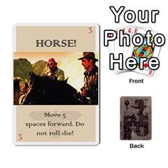 Indiana Jones Fireball Base Set By German R  Gomez   Playing Cards 54 Designs   Ecd3sjvbrtny   Www Artscow Com Front - Heart6