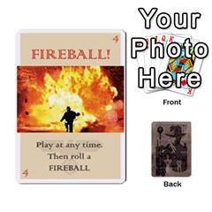 Indiana Jones Fireball Base Set By German R  Gomez   Playing Cards 54 Designs (rectangle)   Ecd3sjvbrtny   Www Artscow Com Front - Diamond9