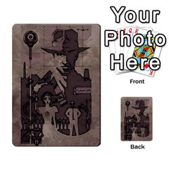 Indiana Jones Fireball Base Set By German R  Gomez   Playing Cards 54 Designs (rectangle)   Ecd3sjvbrtny   Www Artscow Com Back