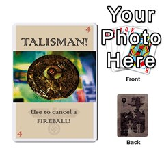 Indiana Jones Fireball Base Set By German R  Gomez   Playing Cards 54 Designs (rectangle)   Ecd3sjvbrtny   Www Artscow Com Front - Spade9