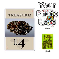 Indiana Jones Fireball Incan Gold By German R  Gomez   Playing Cards 54 Designs   67551ms4nmwz   Www Artscow Com Front - Spade4