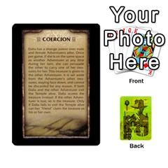 Indiana Jones Fireball Incan Gold By German R  Gomez   Playing Cards 54 Designs   67551ms4nmwz   Www Artscow Com Front - Joker2