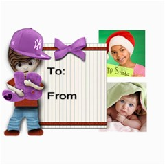 Justin Bieber Inspired Xmas Cards (diff Design On Each Card) By Amarie   5  X 7  Photo Cards   8zlpas28764v   Www Artscow Com 7 x5 Photo Card - 8