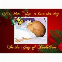 Bethlehem Christmas Photo Card By Kim Blair 7 x5  Photo Card - 6