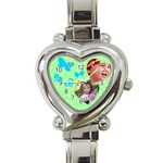 Dreams - Heart Italian Charm Watch