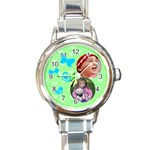 Dreams - Round Italian Charm Watch