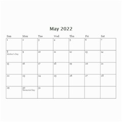 2019 Future Blessed Always Calender By Amarie   Wall Calendar 8 5  X 6    Lx0kaduxck4z   Www Artscow Com May 2019