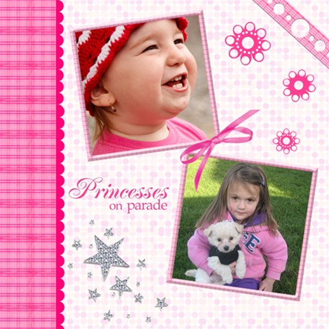 Little Princess  By Picklestar Scraps   Scrapbook Page 12  X 12    29133pt2xr51   Www Artscow Com 12 x12 Scrapbook Page - 1