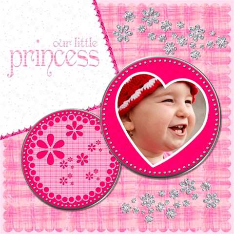 Little Princess  By Picklestar Scraps   Scrapbook Page 12  X 12    Zu8h8mii5gp5   Www Artscow Com 12 x12  Scrapbook Page - 1