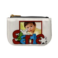 Santa By Amarie   Mini Coin Purse   Vqont4i24mb0   Www Artscow Com Front