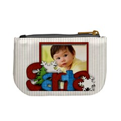 Santa By Amarie   Mini Coin Purse   Vqont4i24mb0   Www Artscow Com Back