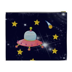 Rocket Man Extra Large Cosmetic Gift Bag By Catvinnat   Cosmetic Bag (xl)   Mkdz6f7kz008   Www Artscow Com Back