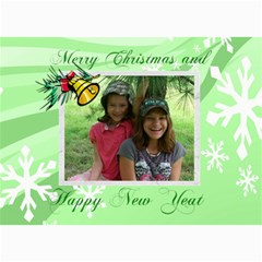 Christmas Card 2 By Jolene   5  X 7  Photo Cards   6nc71jqij02q   Www Artscow Com 7 x5 Photo Card - 6