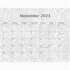 Weathered Floral 2015 Calendar By Catvinnat   Wall Calendar 11  X 8 5  (12 Months)   Ef0qdvy5yfei   Www Artscow Com Nov 2015