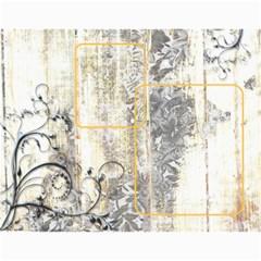 Weathered Floral 2015 Calendar By Catvinnat   Wall Calendar 11  X 8 5  (12 Months)   Ef0qdvy5yfei   Www Artscow Com Month