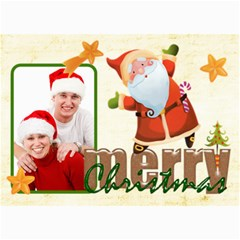 Merry Christmas 5 X 7 Photocard By Catvinnat   5  X 7  Photo Cards   Sea3bqr7lmlb   Www Artscow Com 7 x5 Photo Card - 1