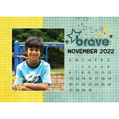 2015 All Boy Father, Masculine  Desktop Calendar 8 5x6 By Mikki   Desktop Calendar 8 5  X 6    Rztbq1r4hltq   Www Artscow Com Nov 2015
