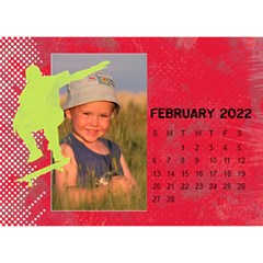 2015 All Boy Father, Masculine  Desktop Calendar 8 5x6 By Mikki   Desktop Calendar 8 5  X 6    Rztbq1r4hltq   Www Artscow Com Feb 2015
