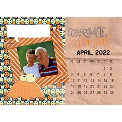 2015 All Boy Father, Masculine  Desktop Calendar 8 5x6 By Mikki   Desktop Calendar 8 5  X 6    Rztbq1r4hltq   Www Artscow Com Apr 2015