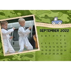 2015 All Boy Father, Masculine  Desktop Calendar 8 5x6 By Mikki   Desktop Calendar 8 5  X 6    Rztbq1r4hltq   Www Artscow Com Sep 2015