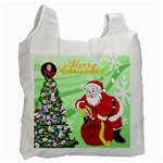 Santa Recycle Bag 2 - Recycle Bag (One Side)
