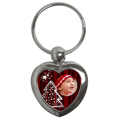 Christmas Collection  By Picklestar Scraps   Key Chain (heart)   40pfkdkf0qpq   Www Artscow Com Front