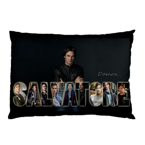 Damon Pillow By Victor Hajjar   Pillow Case   Bk669k5jw5qc   Www Artscow Com 26.62 x18.9 Pillow Case