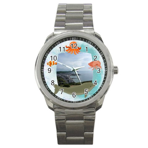 Sealife Stainless Steel Watch By Catvinnat   Sport Metal Watch   Wdbg6zgw2jue   Www Artscow Com Front