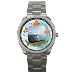 Sealife Stainless Steel Watch - Sport Metal Watch