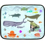 Marina Under the Sea Mini Fleece Blanket