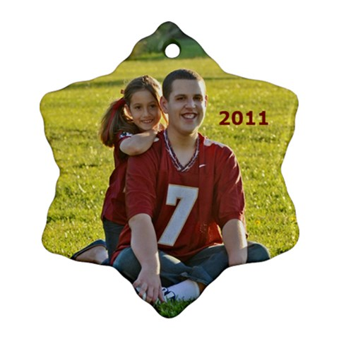 2011 Ornament Kids Fsu By Kathleen    Ornament (snowflake)   Chlsrbots6i2   Www Artscow Com Front