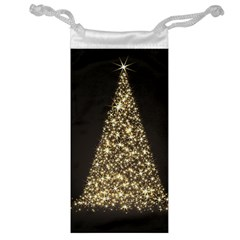 Christmas Tree Sparkle Jpg Glasses Pouch