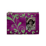 Purple Heart Medium Cosmetic Bag - Cosmetic Bag (Medium)