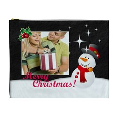 Christmas By May   Cosmetic Bag (xl)   Cs4n8nupixux   Www Artscow Com Front