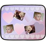 My Little Love Mini Blanket - Mini Fleece Blanket